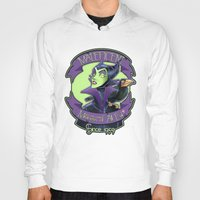 maleficent Hoodies featuring Maleficent by KanaHyde