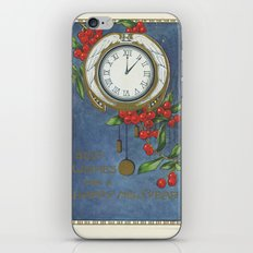 Best Wishes for a Vintage New Year iPhone & iPod Skin