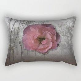 Bloom Out of Gravity Rectangular Pillow