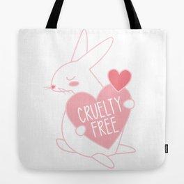 Cruelty Free Bunny Tote Bag