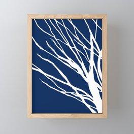 Navy Blues Framed Mini Art Print