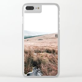 Landscape in Wales Clear iPhone Case