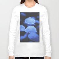 jellyfish Long Sleeve T-shirts featuring Jellyfish by Tasha Marie