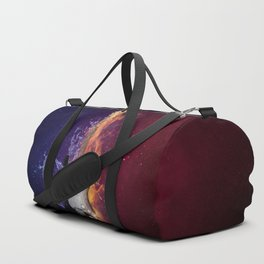 Cool Music Guitar Fire Water Artistic Duffle Bag