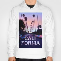 "california Hoodies featuring CaliforniA by ""CVogiatzi."