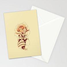 Rose a la Mode Stationery Cards