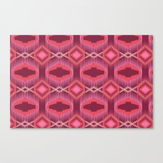 Tribal Red Canvas Print