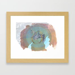No Greater Security Framed Art Print