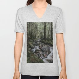 The Fairytale Forest - Landscape and Nature Photography Unisex V-Neck