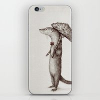 otter iPhone & iPod Skins featuring Otter by liquidmoon