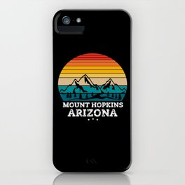 MOUNT HOPKINS Arizona iPhone Case