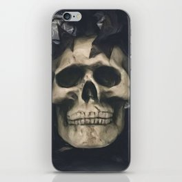 Dark Skull iPhone Skin