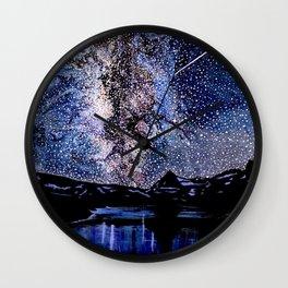 Starry Skies Wall Clock