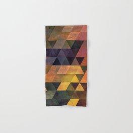 Graphic // isometric grid // chyynxxys Hand & Bath Towel