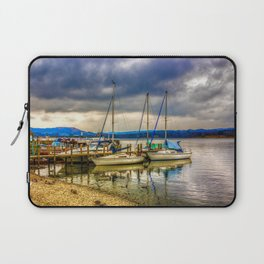 Yachts on Lake Windermere Laptop Sleeve