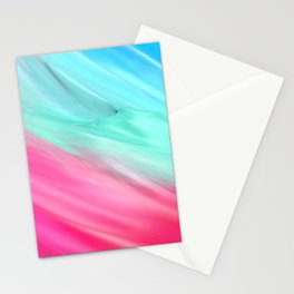 Blue Pink Stationery Cards