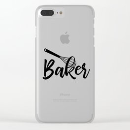 Baker Clear iPhone Case