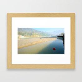 Banks of the Ganges River Framed Art Print