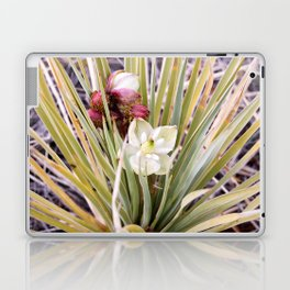 Yucca Flowers in Bloom Laptop & iPad Skin
