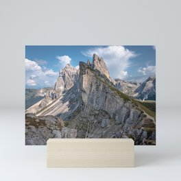 Picture of the Seceda I | A journey through the Dolomites, Italy Mini Art Print