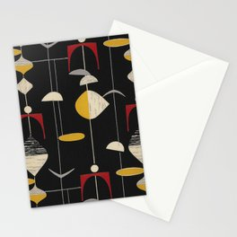 millenium pattern Stationery Cards