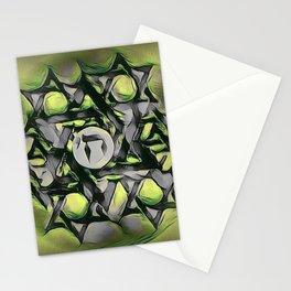 Chai Mandala - Green Stationery Cards