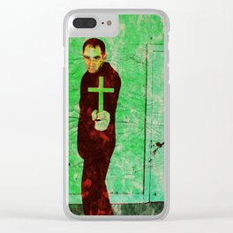 The Exorcist Clear iPhone Case