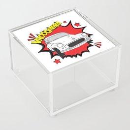 "Morris Minor ""vrooom"" Pop Art Acrylic Box"