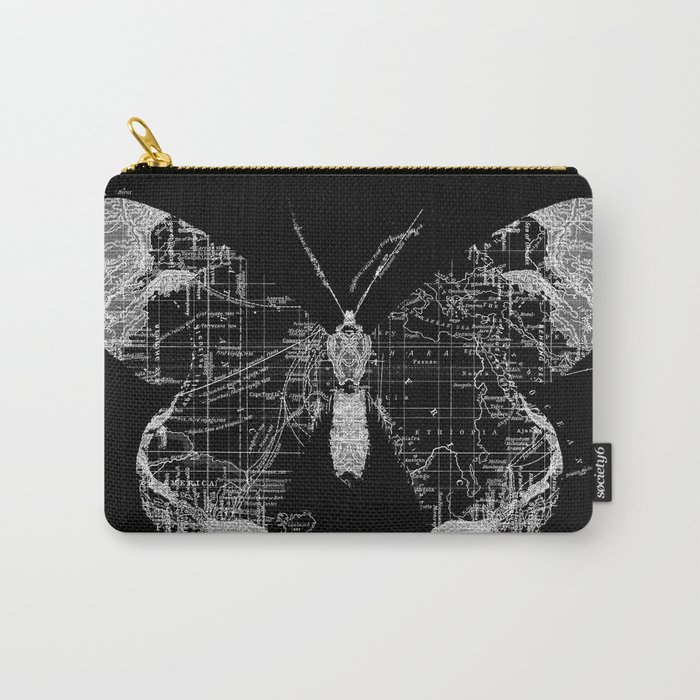 Butterfly Wanderlust Carry-All Pouch