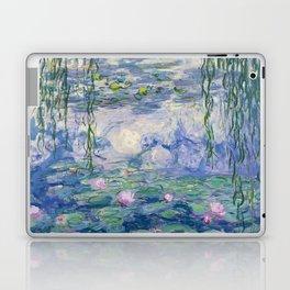 "Claude Monet ""Water Lilies(Nymphéas)"" (9) 1916–19.jpg Laptop & iPad Skin"