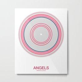 Anaheim rings Metal Print