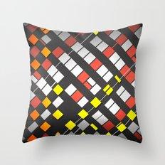 Breakout Pattern Throw Pillow