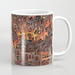 Gold Favela Coffee Mug