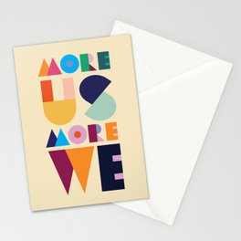 More Us More We - ByBrije Stationery Cards