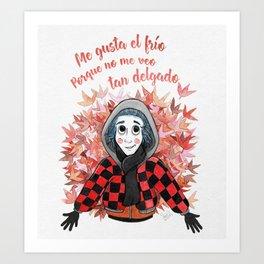 Abrigadito Art Print