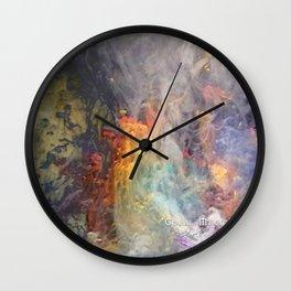Coral Magic Wall Clock