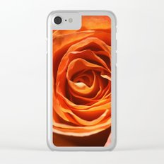 Vavoom Rose Clear iPhone Case