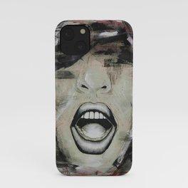 YELL iPhone Case