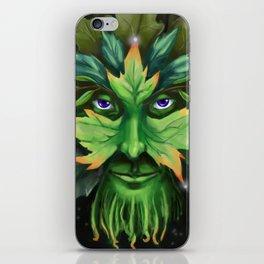 The Greenman iPhone Skin