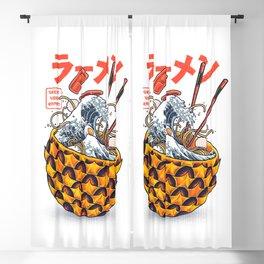 Great vibes ramen Blackout Curtain