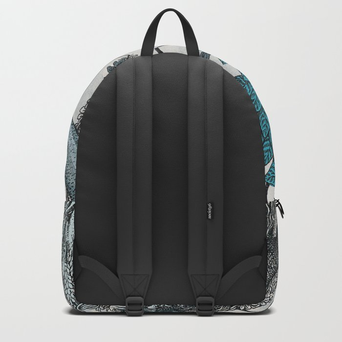 Abstract Jungle Backpack