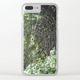Spider Web! Clear iPhone Case