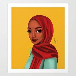 jamilah Art Print