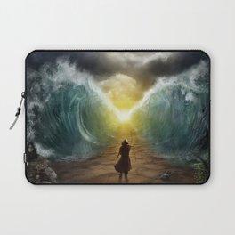 Moses splits the sea Laptop Sleeve