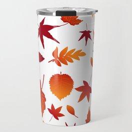 Fallen leaves Travel Mug
