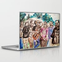 grateful dead Laptop & iPad Skins featuring Dark Star Orchestra Grateful Dead Painting by Acorn