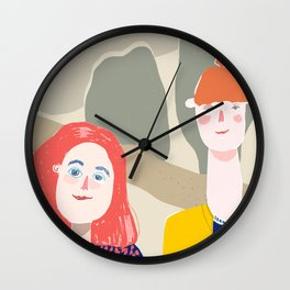 Girlfriends Wall Clock
