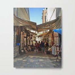 Art Market Metal Print