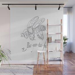 OLena Art Tee Design Bee-yoo-tee-ful Drawing Wall Mural