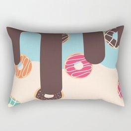 Doughnut Set 4 Rectangular Pillow